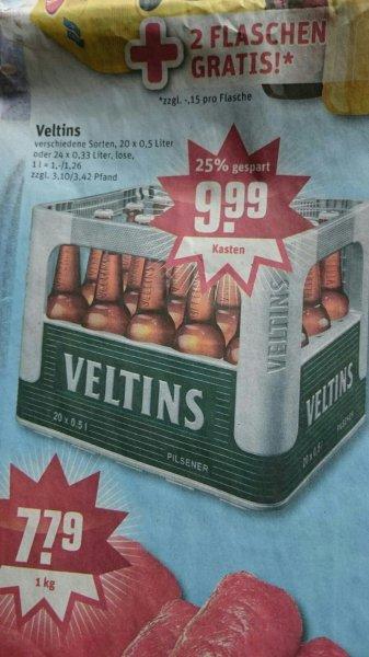 [Rewe/lokal?] Kasten Veltins 0,5l und 0,33l für 9,99€