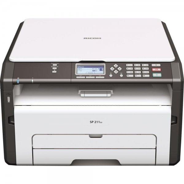"Ricoh™ - A4 Laser Multifunktionsgerät ""SP 211SU"" (Fax,Drucker,Scanner,1200x600dpi,USB 2.0) ab €65,34 [@Redcoon.de]"