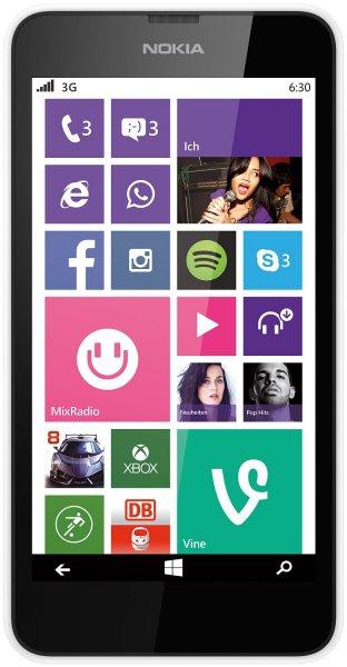 "Nokia™ - Smartphone ""Lumia 630"" (4.5"" 854x480 IPS-Panel,8GB+microSD,5.0MP +AF Cam,WP8.1) ab €62,39 [@Allyouneed.com]"