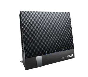-vorbei- [Amazon Blitzangebot] Asus RT-AC56U AC1200 Black Diamond Dual-Band WLAN Router für 79,90€