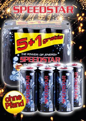 [Norma]  Speedstar 5+1 Gratis 330ml Dosen [Kein Pfand!]