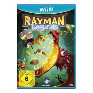 Amazon Rayman Legends Wii U 17,14 Euro
