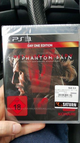 [Bundesweit] Saturn Metal Gear Solid 5: Phantom Pain (PS3) für 49,99€ dank Tiefpreisgarantie!