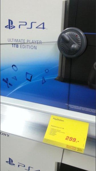 Medimax Bautzen Playstation 4 1TB für 299 EUR