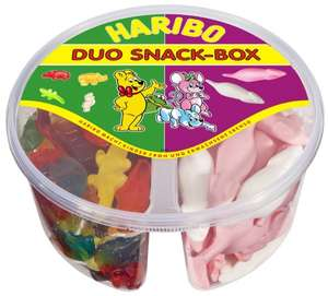 """Haribo Duo Snack-Box """"Kinder Mix"""", 3er Pack (3x 630 g Dose) 30%"""