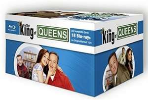 [Alphamovies.de] The King of Queens HD Superbox [18 Blu-Rays] für 59,94€ - Idealo ab 69,99€