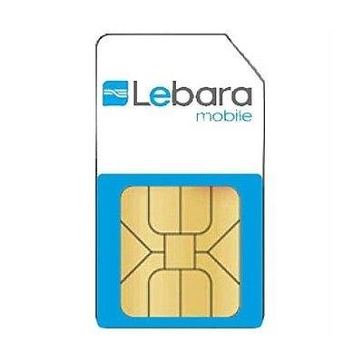 LEBARA - Prepaid SIM-Karte -KOSTENLOS - KOSTENLOS - 0€ für KARTE