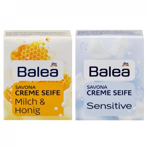 [DM BUNDESWEIT] Balea Savone Creme Seife Sensitive oder Milch & Honig kostenlos (Scondoo)