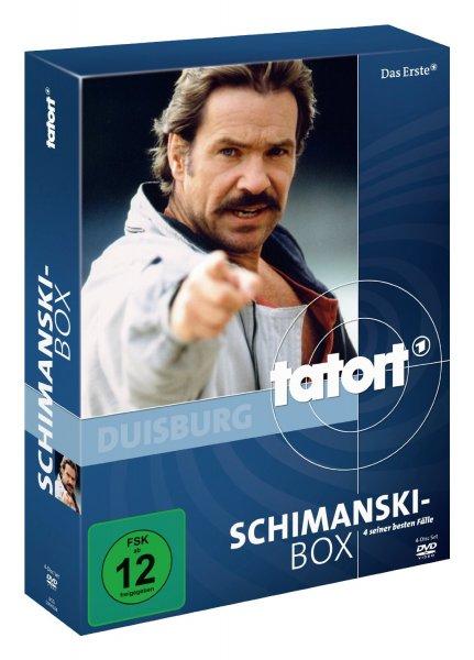Tatort: Schimanski Box (DVD) (Beste Fälle) über AMAZON PRIME für 9,88 €