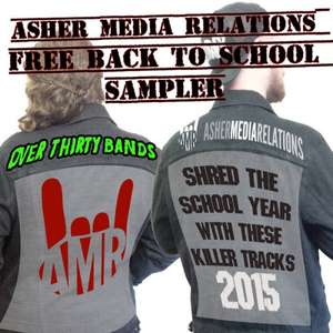 [Free Metal Sampler] Asher Media präsentiert: Back To School Sampler Vol. 1