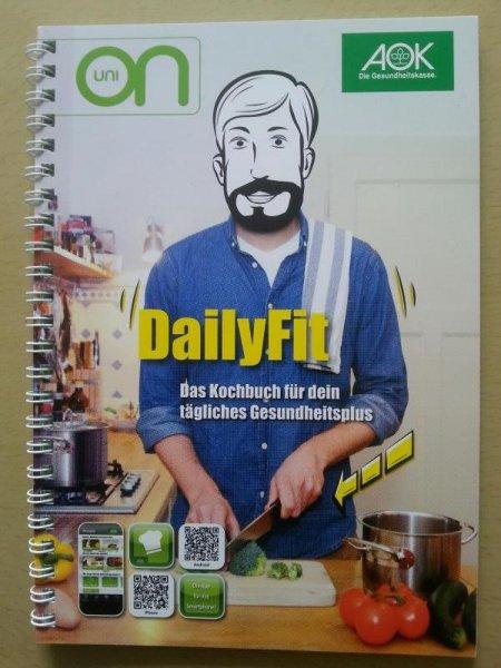 [lokal: Rheinland und Hamburg] Das Daily Fit - Kochbuch von der AOK