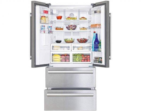 Beko GNE60530DX French Door Kühl-Gefrier-Kombination edelstahl EEK: A++ Spender für Wasser und Eiswürfel ( Qipu: 1096,94€ statt 1.496,90€)