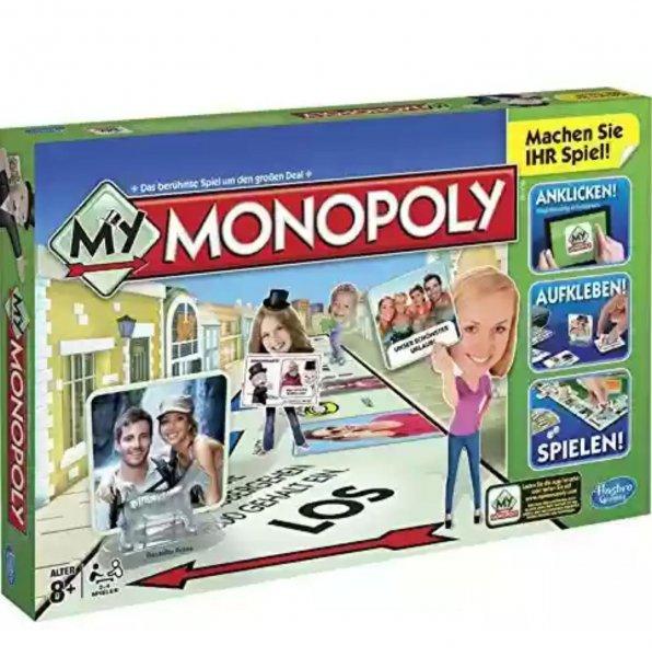 My Monopoly, Familien-Brettspiel, deutsche Version 7.36€ Mit Amazon Prime