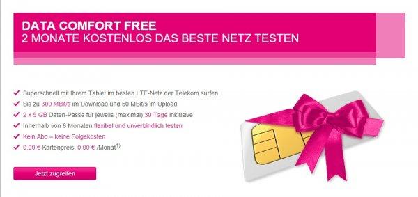 10 GB (und mehr) LTE gratis im Netz der Telekom