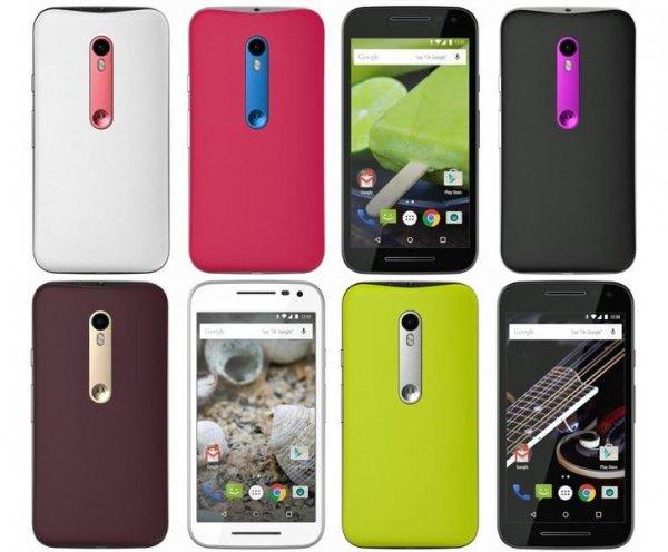 Motorola Moto G (3. Generation) 16GB Speicher/2 GB RAM Moto Maker 249€ *alle Farben / individualisierbar*