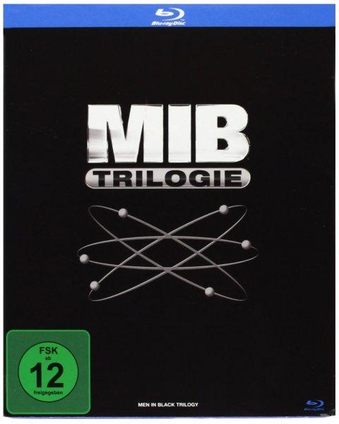MIB - Men in Black Trilogie (Blu-ray) für 8,99 @ Saturn Super Sunday