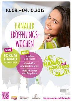 [HANAU] Ganz Hanau feiert Neueröffnungswochen vom 10.09.-04.10.2015 (Freebies)