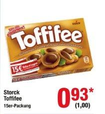 [Metro Bundesweit] Storck Toffifee 15er Packung 125g MIT 15,-€ Bahngutschein für 1,-€ ab 10.09
