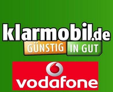 Klarmobil (Vodafone-Netz) - Allnet Flat | SMS Flat | 750 MB bei 21,6 Mbit/s UMTS für 14,85 € auf der Rechnung