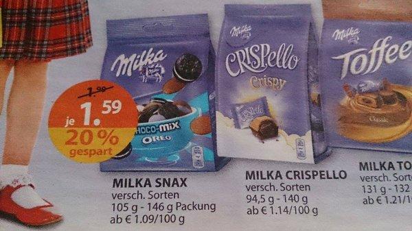 (MÜLLER) KW 37 - Milka Crispello / Snax