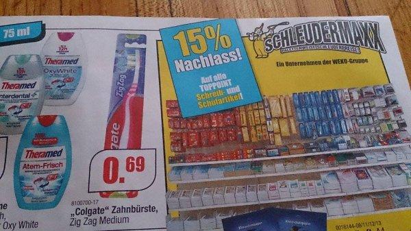 """(Schleudermaxx 83026 Rosenheim) Colgate Zahnbürste """"Zig Zag Medium"""""""