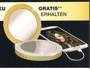 Schwarzkopf Aktion: Mobiler Akku mit Spiegel beim Kauf von Produkten im Wert von 10 EUR