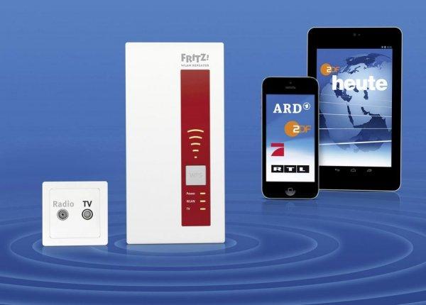 FRITZ!WLAN Repeater mit DVB-C Streaming @digitalo   79,00€   inkl. VSK