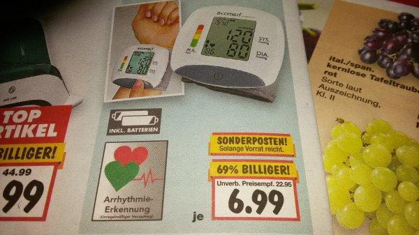 Kaufland KW 37 Handgelenk-Blutdruck-Messgerät Ecomed by Medisana BW-82A