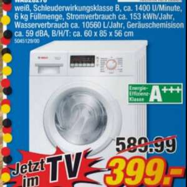 Bosch WAB 27280 Waschmaschine