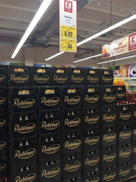 [Kaufland] Radeberger Bier 20*0,5l für 8,80€