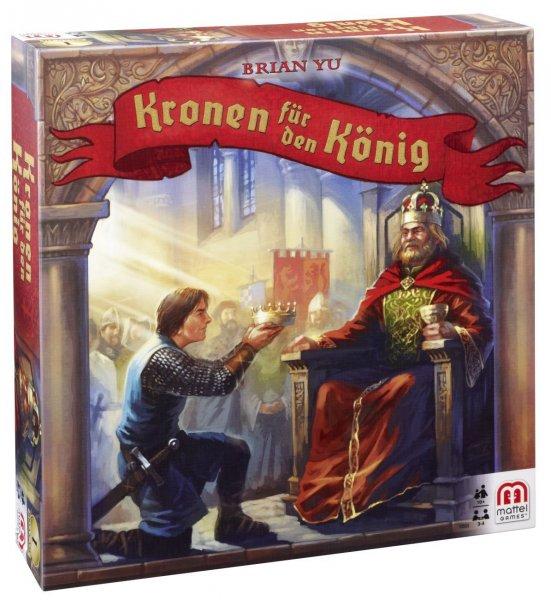 (Amazon Plus Programm) Mattel Y2553 - Kronen für den König für 3,19 €