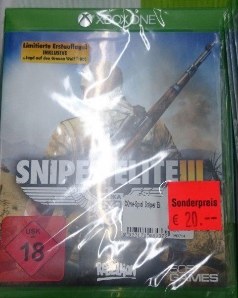 [LOKAL Alphatecc St.Wendel] Sniper Elite 3 Xbox One inkl. DLC für 20€