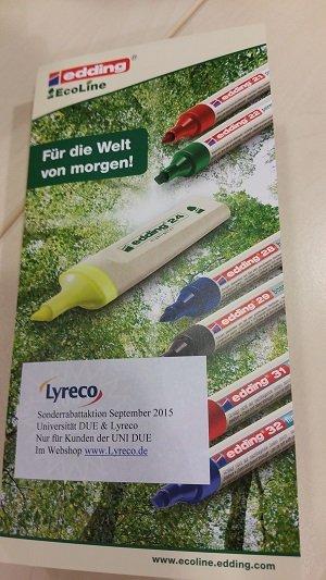 [Duisburg] Textmarker von Edding