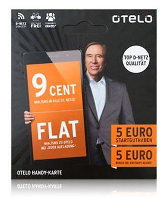 [ausverkauft]otelo Prepaid Karte 5,- Startguthaben KOSTENLOS-KOSTENLOS - 0€