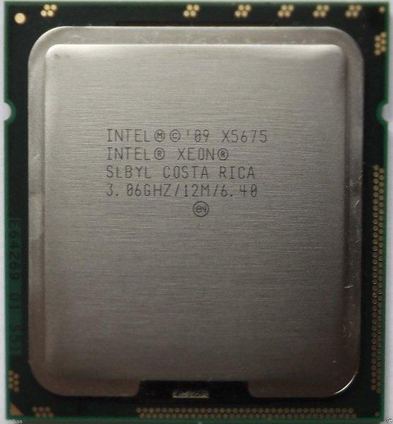 Xeon x5675 6+6 HT Kerne  3,06 Ghz/Turbo 3,46 Ghz - gebraucht - Aufrüst CPU für Sockel 1366