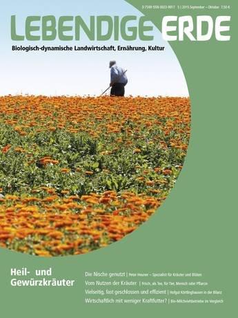 """kostenloses Probeheft der Zeitung """"Lebendige Erde"""""""