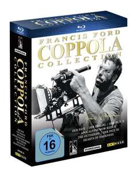 Francis Ford Coppola Collection [Blu-ray] für 44,97 € > [amazon.de]