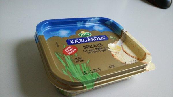 Butter ungesalzen am Hbf Stuttgart