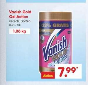 [Netto rot/gelb] VANISH Gold Oxi Action 1,33 Kg
