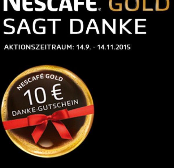 2 x Nescafé Gold 200 g für effektiv 3,98€