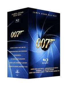 @saturn: James Bond - Blu Ray Box Vol. 1+2
