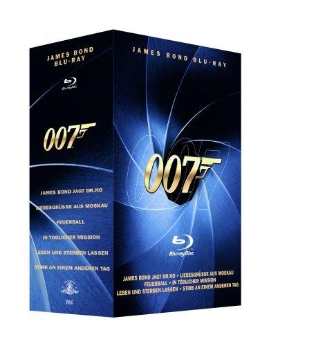 @saturn: James Bond - Blu Ray Box Vol. 1+2