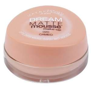 [Amazon] Maybelline New York Dream Matte Mousse Make-up