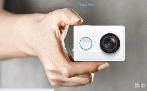 Xiaomi Yi Action Kamera für 56,31€ / 63$ + 8% Gutschein [@Banggood]