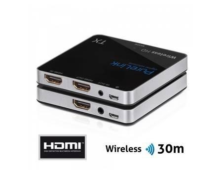 PureLink® - Wireless HD Extender CSW100 HDMI-Übertragung (Full-HD 1080p, 3D, kabellos und unkomprimiert bis 30m) schwarz für 169,90€ @ Allyouneed