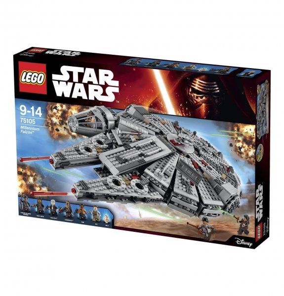 LEGO Star Wars 75105 – Millennium Falcon (neues Modell) für 132,99 @Galeria Kaufhof (10% qipu möglich)