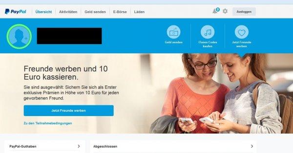 10 € pro geworbenen Kunden bei PayPal checkt eure Accounts (wird über aklamio realisiert)