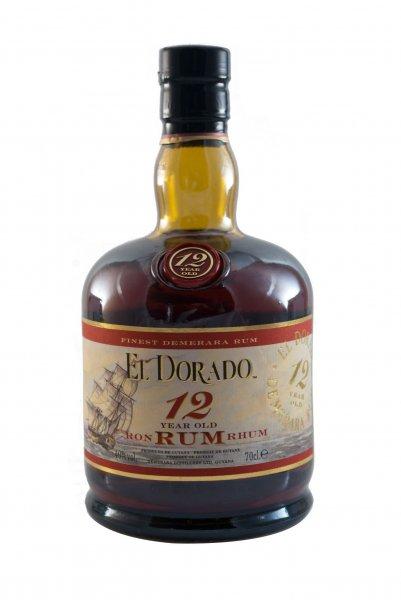 El Dorado 12 Jahre Rum 0,7l für 26,89€ inkl. Versand bei Conalco