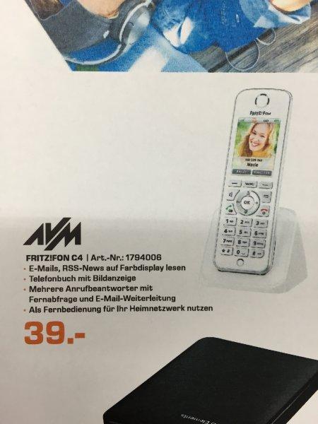 (Lokal Saturn Berlin & Potsdam) AVM FRITZ!Fon C4 für 39€