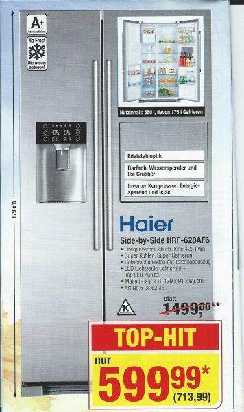 [METRO] Side-by-Side Haier HRF-628AF6 für brutto 713,99€